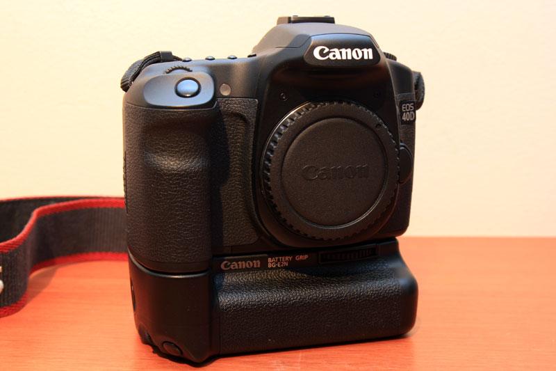 Canon EOS 40D - Front