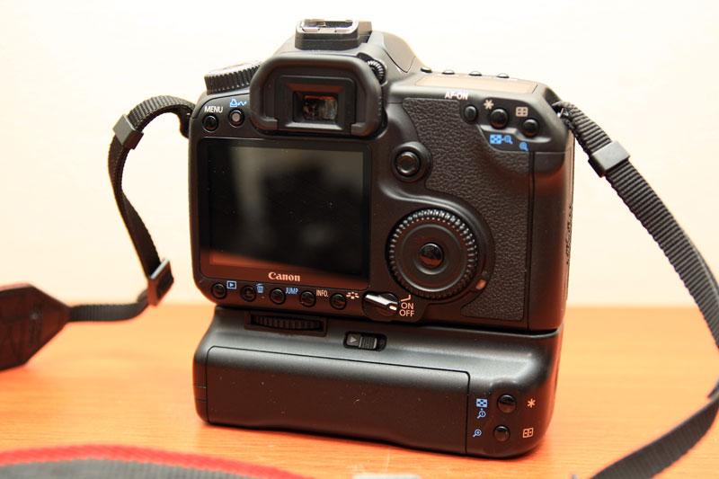 Canon EOS 40D - Back