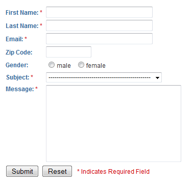 The e-mail contact form - a thing of the past?